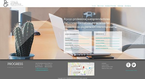 Progress Consultores estrena web